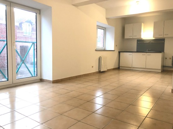 location appartement HOUPLINES 2 pieces, 40m